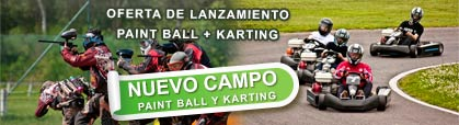Paint Ball y Karting en Ruidera