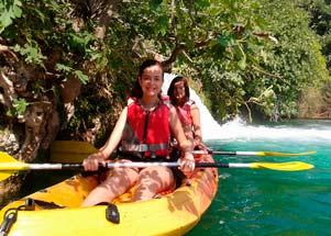 Actividades náuticas en Lagunas de Ruidera