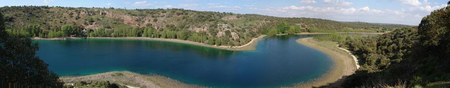 panorámica Laguna Conceja en Ruidera